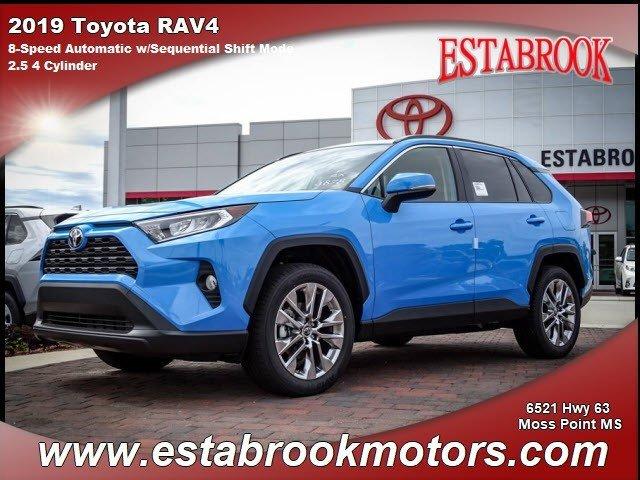 New 2019 Toyota RAV4 in , MS
