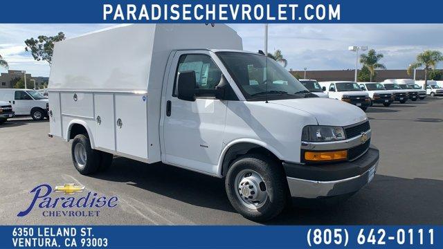 """2020 Chevrolet Express Commercial Cutaway 3500 Van 139"""" Gas V8 6.0L/364 [4]"""