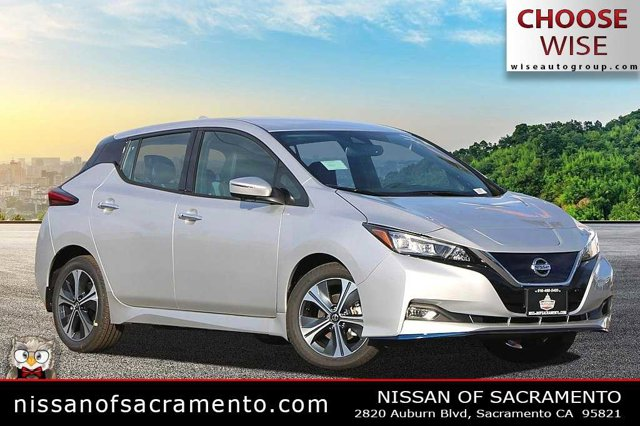 2020 Nissan LEAF SL PLUS SL PLUS Hatchback Electric [9]