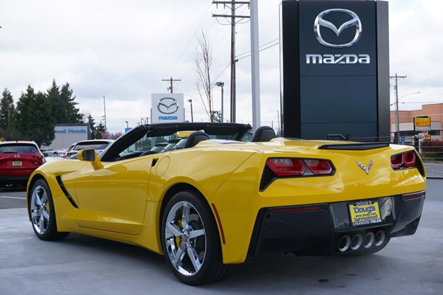 Used 2015 Chevrolet Corvette 2dr Stingray Conv w-2LT