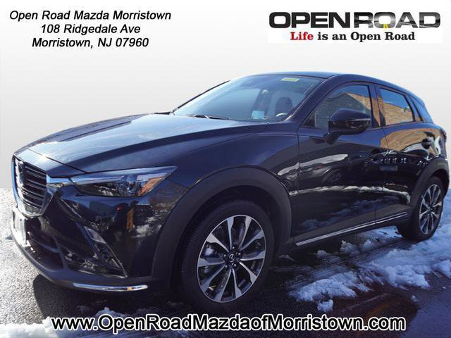 2019 Mazda CX-3 Grand Touring JET BLACK MICA BLACK  LEATHER-TRIMMED UPHOLSTERY Telematics Requir