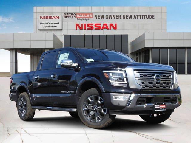 2020 Nissan Titan Platinum Reserve 4x4 Crew Cab Platinum Reserve Premium Unleaded V-8 5.6 L/339 [5]