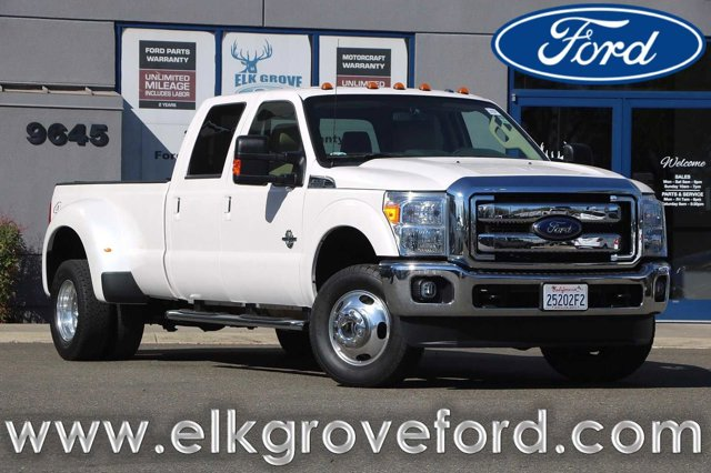 Used 2016 Ford Super Duty F-350 DRW Lariat Pickup 4D 8 ft