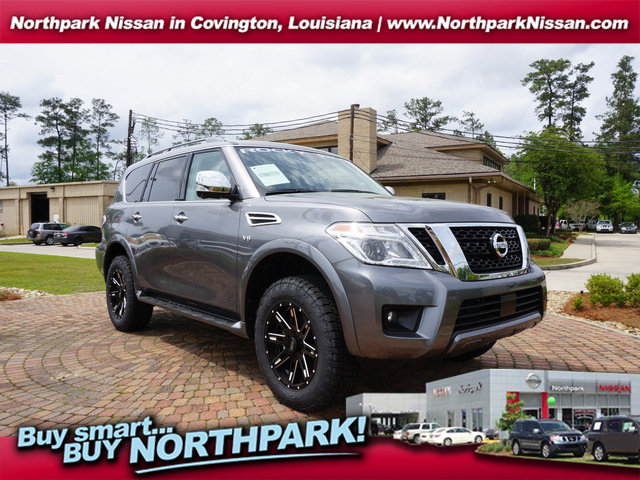 2019 Nissan Armada SL w/Rocky Ridge Package