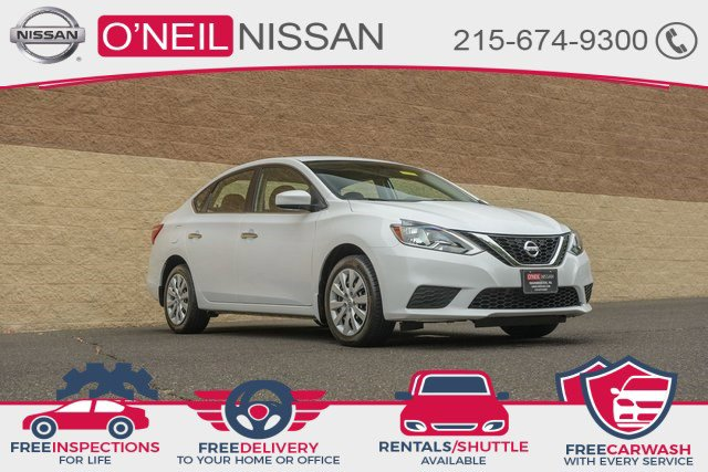 2017 Nissan Sentra SV SV CVT Regular Unleaded I-4 1.8 L/110 [17]