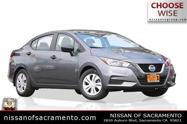 2020 Nissan Versa S S CVT Regular Unleaded I-4 1.6 L/98 [5]