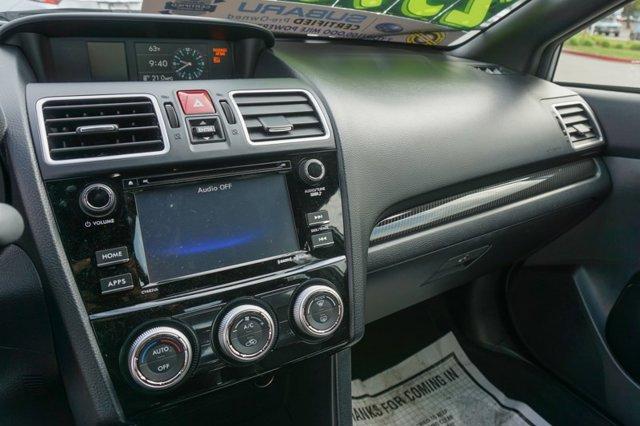 Used 2017 Subaru WRX Premium Manual