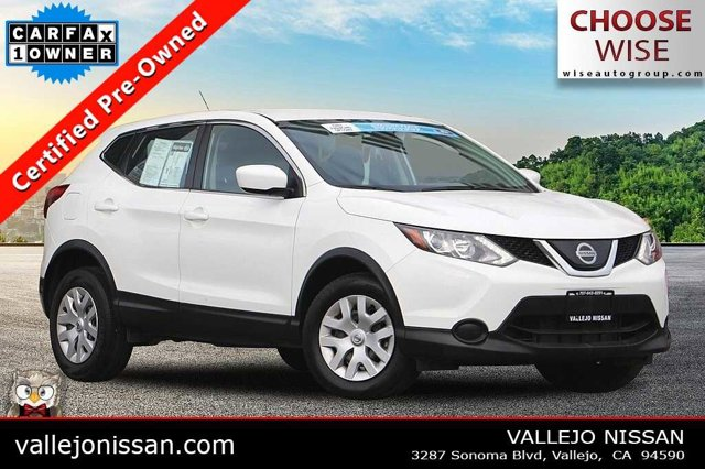 2019 Nissan Rogue Sport S AWD S Regular Unleaded I-4 2.0 L/122 [8]