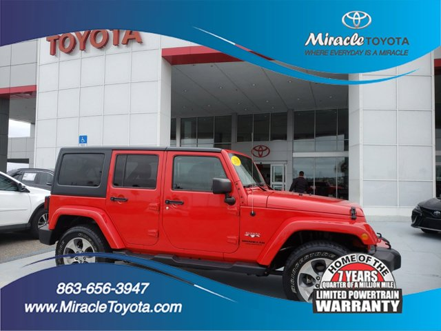 Used 2016 Jeep Wrangler Unlimited in Haines City, FL