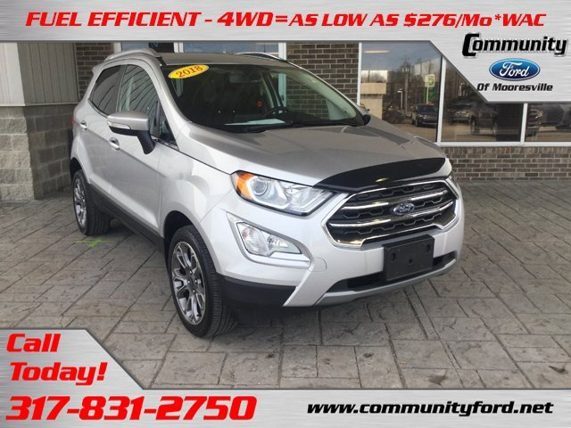 Used 2018 Ford EcoSport in Bloomington, IN