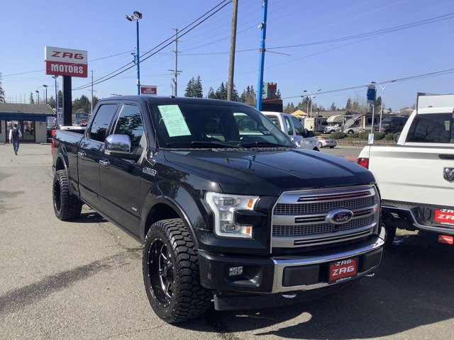 2015 Ford F-150 4WD SuperCrew 157 Platinum