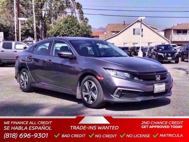 2019 Honda Civic Sedan LX LX CVT Regular Unleaded I-4 2.0 L/122 [2]