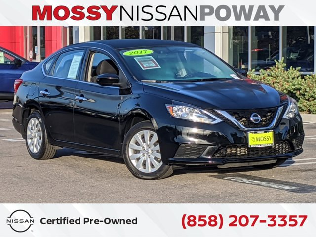 2017 Nissan Sentra S S CVT Regular Unleaded I-4 1.8 L/110 [4]