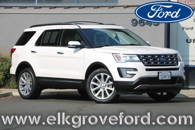Used 2017 Ford Explorer Limited 4WD