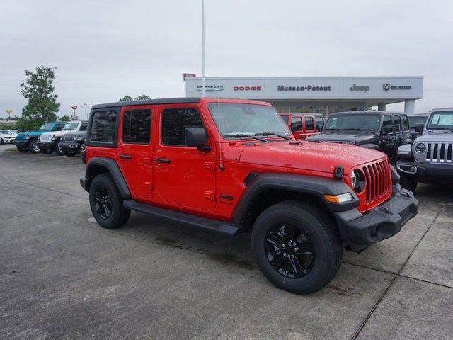 New 2020 Jeep Wrangler Unlimited in New Iberia, LA