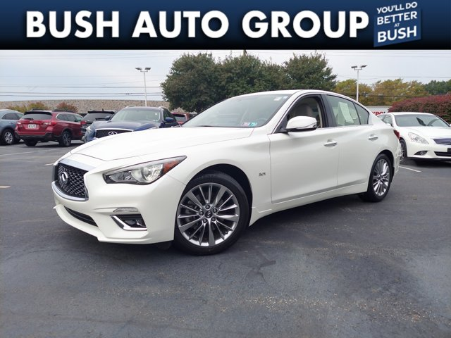 2018 INFINITI Q50 3.0t LUXE 3.0t LUXE AWD Twin Turbo Premium Unleaded V-6 3.0 L/183 [9]