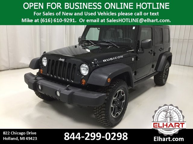 Used 2010 Jeep Wrangler Unlimited in Holland, MI
