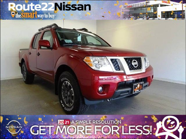 2020 Nissan Frontier PRO-4X Crew Cab 4x4 PRO-4X Auto Regular Unleaded V-6 3.8 L/231 [1]