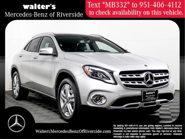 2018 Mercedes-Benz GLA 250 4MATIC GLA 250 4MATIC SUV Intercooled Turbo Gasoline I-4 2.0 L/121 [7]