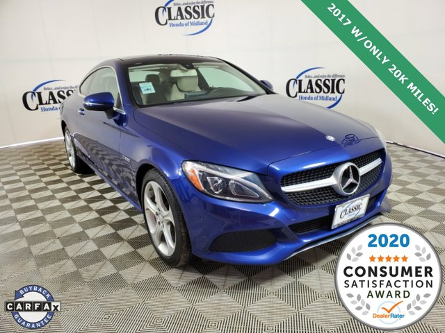 Used 2017 Mercedes-Benz C-Class in Midland, TX
