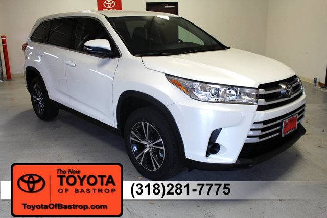New 2019 Toyota Highlander in Bastrop, LA