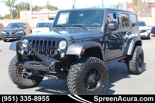 Used 2017 Jeep Wrangler Unlimited in , CA