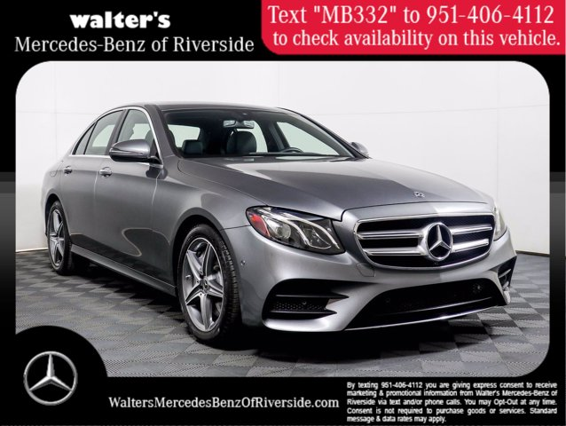2018 Mercedes-Benz E-Class E 300 E 300 RWD Sedan Intercooled Turbo Gasoline I-4 2.0 L/121 [5]