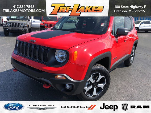 New 2019 Jeep Renegade in Branson, MO