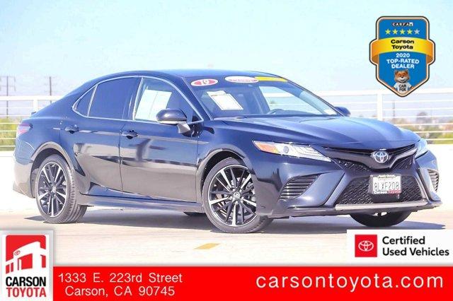 2019 Toyota Camry XSE XSE Auto Regular Unleaded I-4 2.5 L/152 [10]