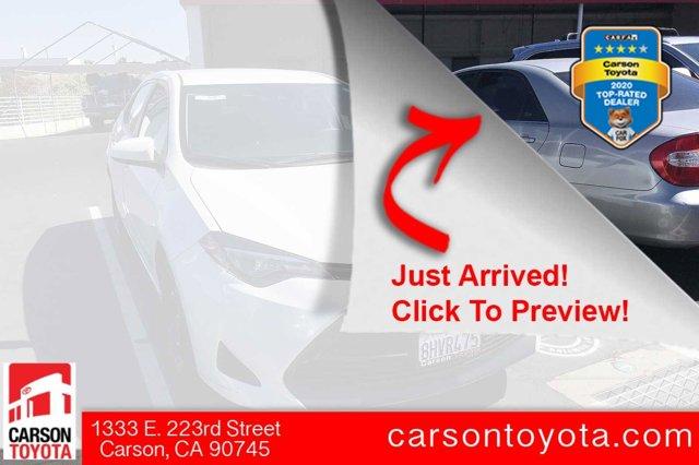 2019 Toyota Corolla LE LE CVT Regular Unleaded I-4 1.8 L/110 [8]