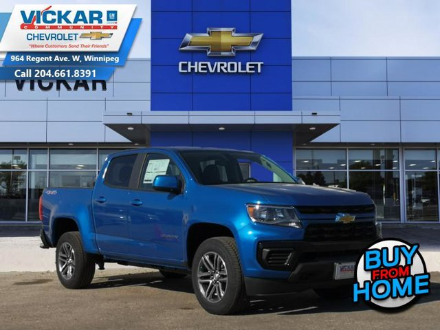 2021 Chevrolet Colorado 4WD Work Truck 4WD Crew Cab 128″ Work Truck Gas V6 3.6L/ [0]