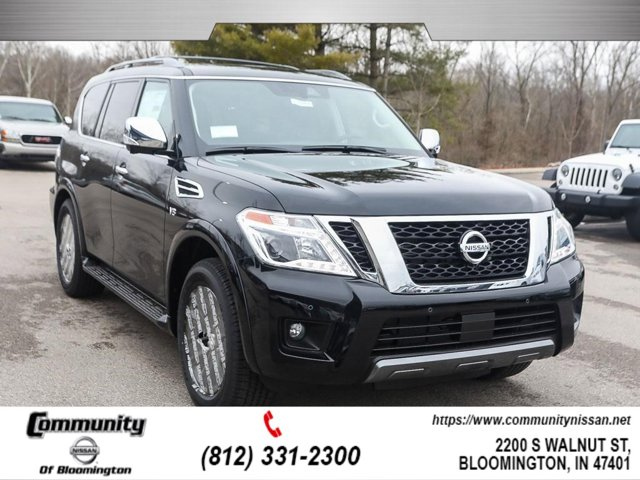 New 2020 Nissan Armada in Bloomington, IN