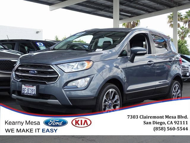 Used 2018 Ford EcoSport in Chula Vista, CA