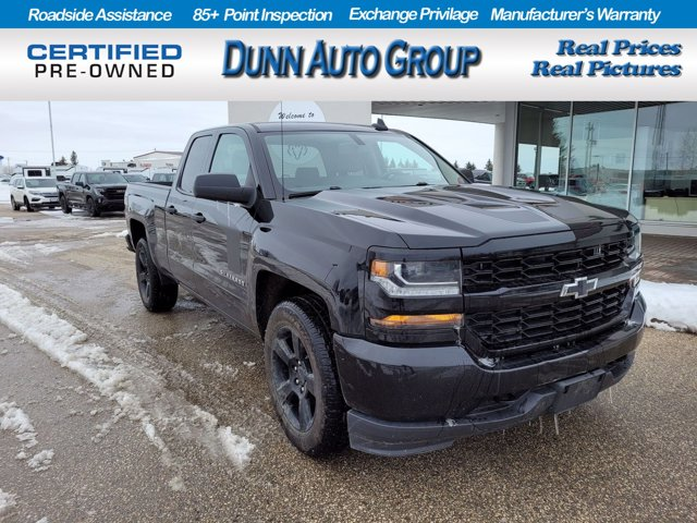 "2018 Chevrolet Silverado 1500 Double Cab CUSTOM 4x4 | Rally-1 Edition | BACKUP CAMERA | 4WD Double Cab 143.5"" Custom Gas V8 5.3L/325 [7]"