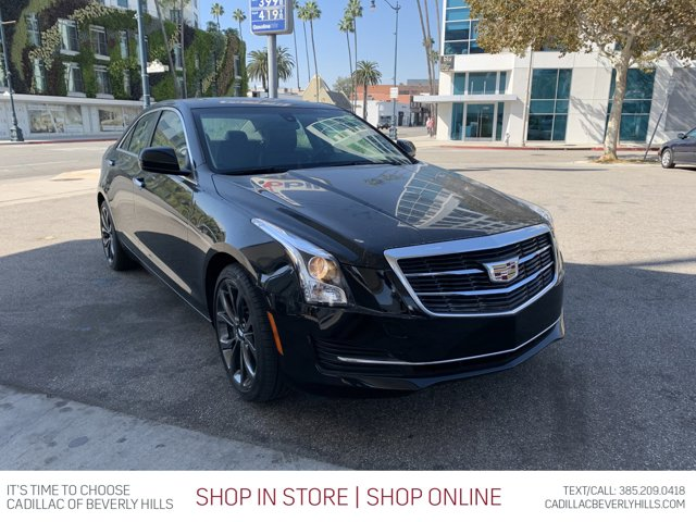 2018 Cadillac ATS Sedan AWD 4dr Sdn 2.0L AWD Turbocharged Gas I4 2.0L/ [4]