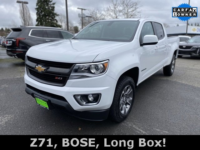 2017 Chevrolet Colorado 4WD Crew Cab 140.5 Z71
