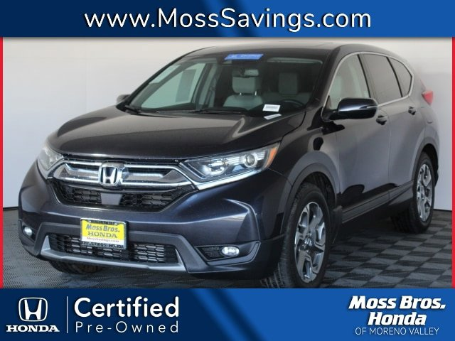 2017 Honda CR-V EX-L  Intercooled Turbo Regular Unleaded I-4 1.5 L/91 [7]