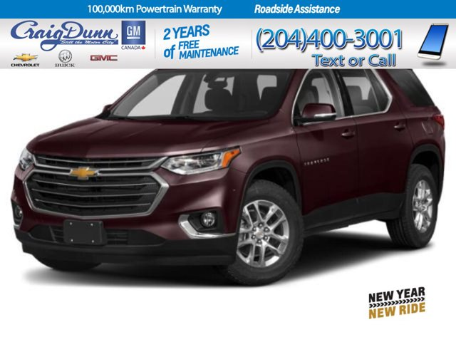 2021 Chevrolet Traverse LT Cloth AWD 4dr LT Cloth w/1LT Gas V6 3.6L/ [2]