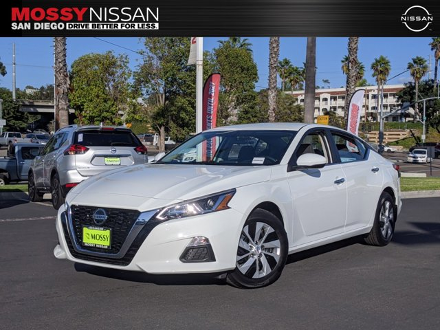 2020 Nissan Altima 2.5 S FWD 2.5 S Sedan Regular Unleaded I-4 2.5 L/152 [4]