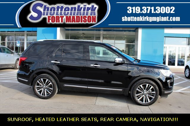 Used 2018 Ford Explorer in Fort Madison, IA