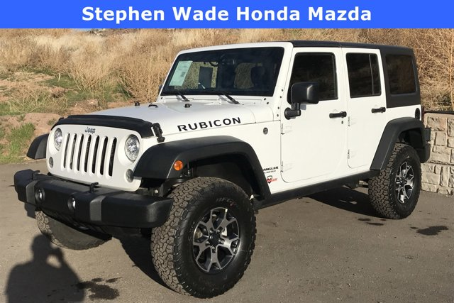 Used 2017 Jeep Wrangler Unlimited Rubicon