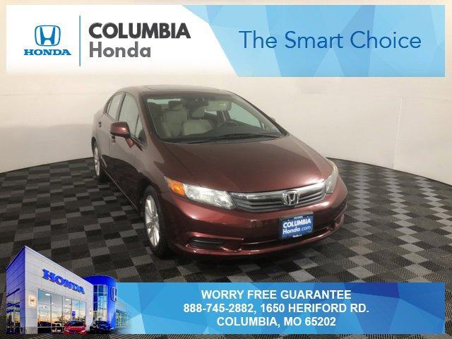 Used 2012 Honda Civic Sedan in Columbia, MO