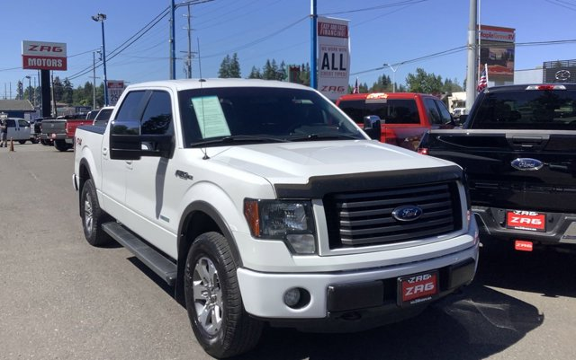 Used 2012 Ford F-150 4WD SuperCrew 145 FX4