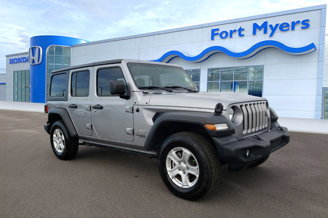 Used 2019 Jeep Wrangler Unlimited in Fort Myers, FL
