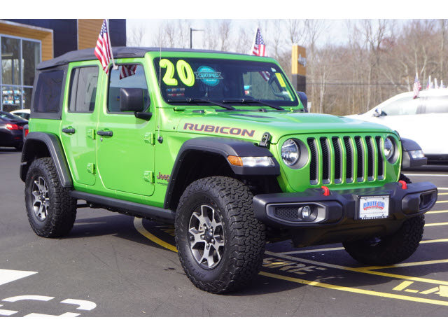 Used 2020 Jeep Wrangler Unlimited in Little Falls, NJ