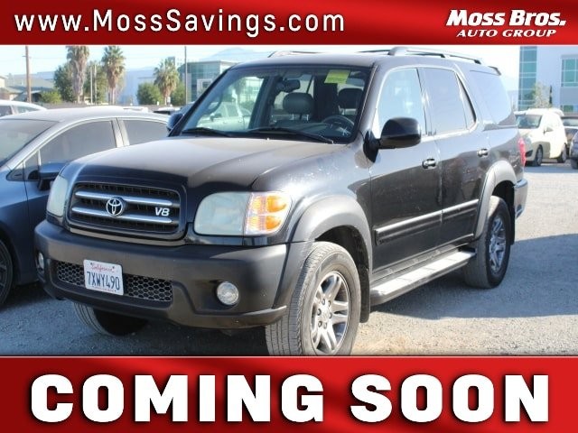 2004 Toyota Sequoia Limited 4dr Limited Gas V8 4.7L/285 [8]