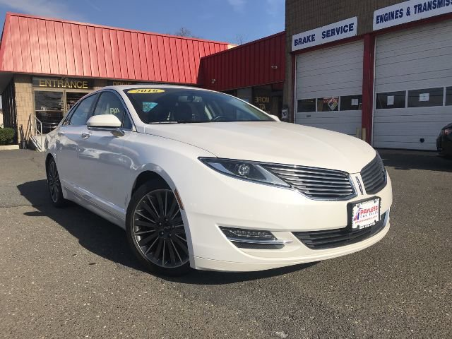 2016 Lincoln MKZ Hybrid Front Wheel Drive Active Suspension Power Steering ABS 4-Wheel Disc Bra