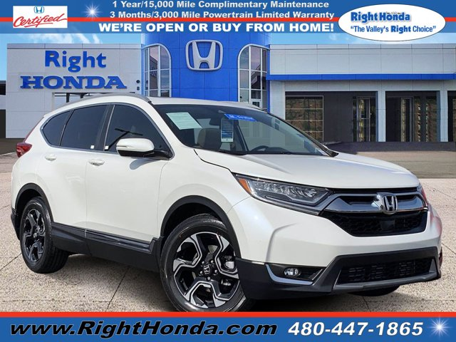 2018 Honda CR-V Touring Touring 2WD Intercooled Turbo Regular Unleaded I-4 1.5 L/91 [29]
