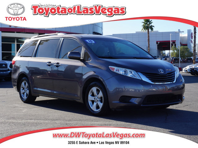 2015 Toyota Sienna LE 5dr 8-Pass Van LE FWD Regular Unleaded V-6 3.5 L/211 [18]