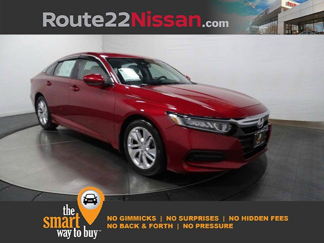 2019 Honda Accord Sedan LX 1.5T LX 1.5T CVT Intercooled Turbo Regular Unleaded I-4 1.5 L/91 [8]